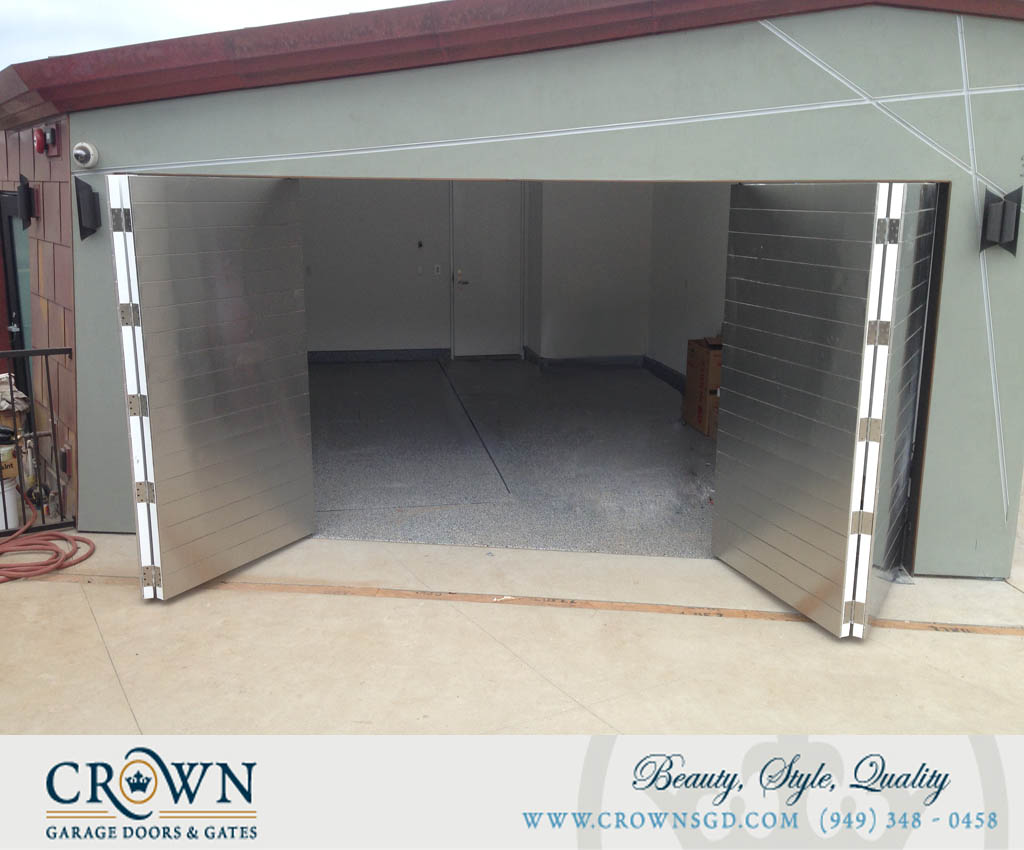 Automatic Bi-fold & Metal Garage Doors - CrownsGD.com